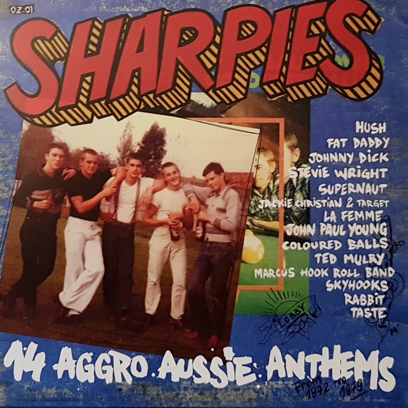 V/A - Sharpies (14 Aggro Aussie anthems from 1972 To 1979) LP